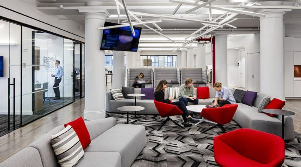 Office Space Trends The Workplace Goes High Tech