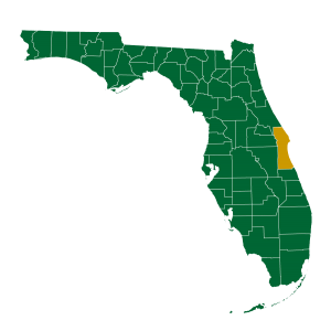 Ullian Realty Florida Brevard County Map Image