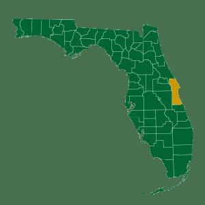 Ullian Realty Florida Brevard County Map Image